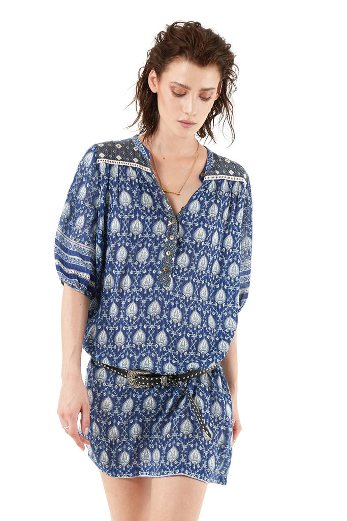 Spell Oracle Tunic Dress Indigo - Call Me The Breeze - 7