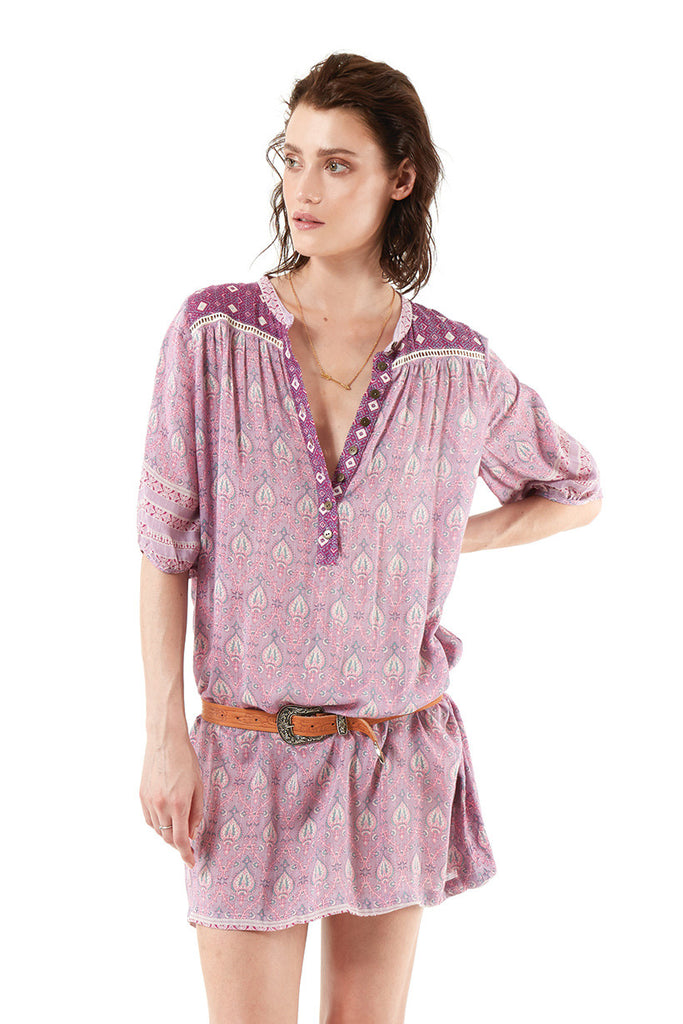 Spell Oracle Tunic Dress Lilac // EXCLUSIVE - Call Me The Breeze - 4