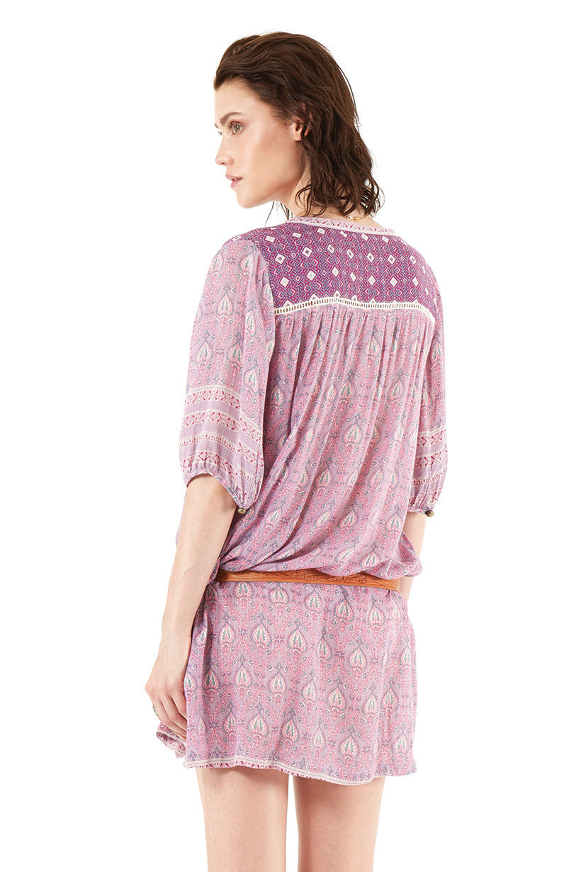 Spell Oracle Tunic Dress Lilac // EXCLUSIVE - Call Me The Breeze - 5