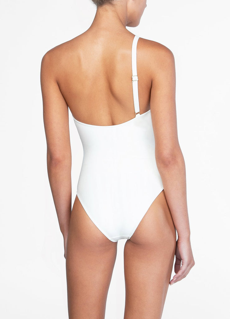 Peony One Shoulder One Piece Petunia