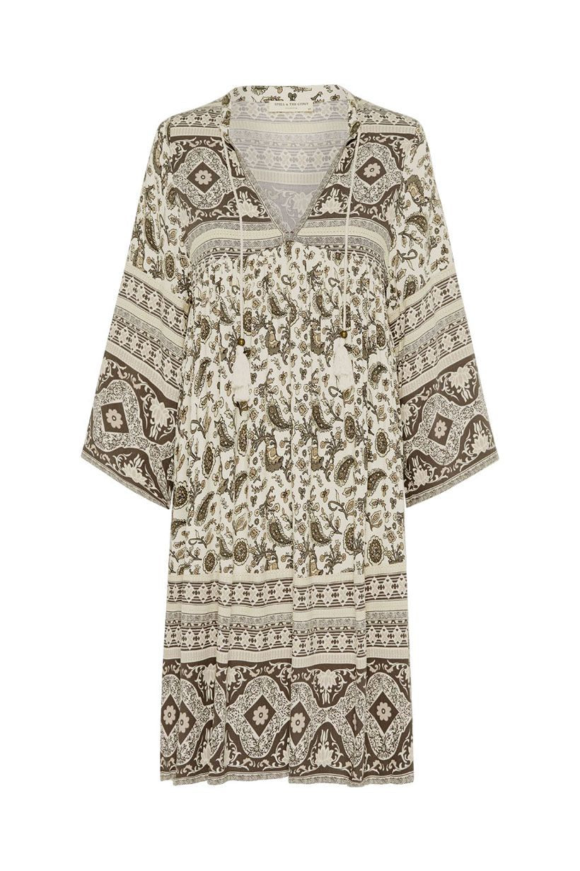 Spell Journey Tunic Dress Ash