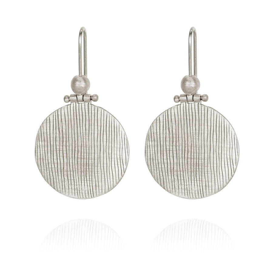Temple Of The Sun Rei Earring Silver