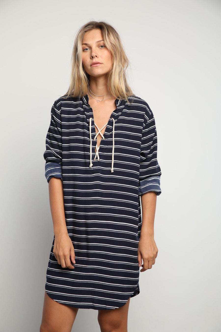 Lilya Rae Dress Stripe