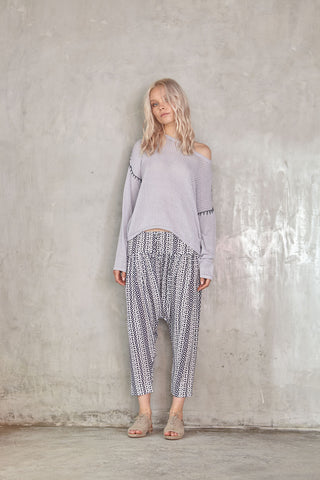 Lilya Russo Knit Light Grey // PREORDER - Call Me The Breeze - 1