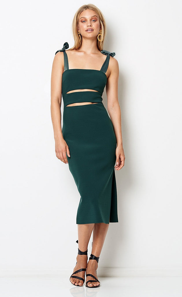 Bec and Bridge Tasha Cut-Out Midi Dress