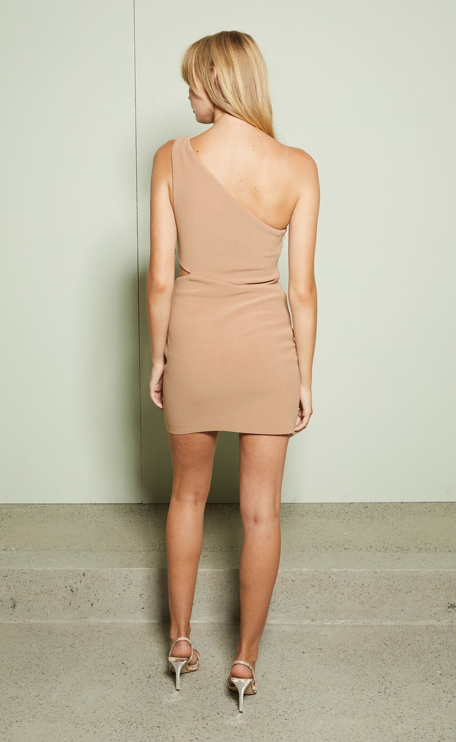 Bec and Bridge Elke Mini Dress Caramel