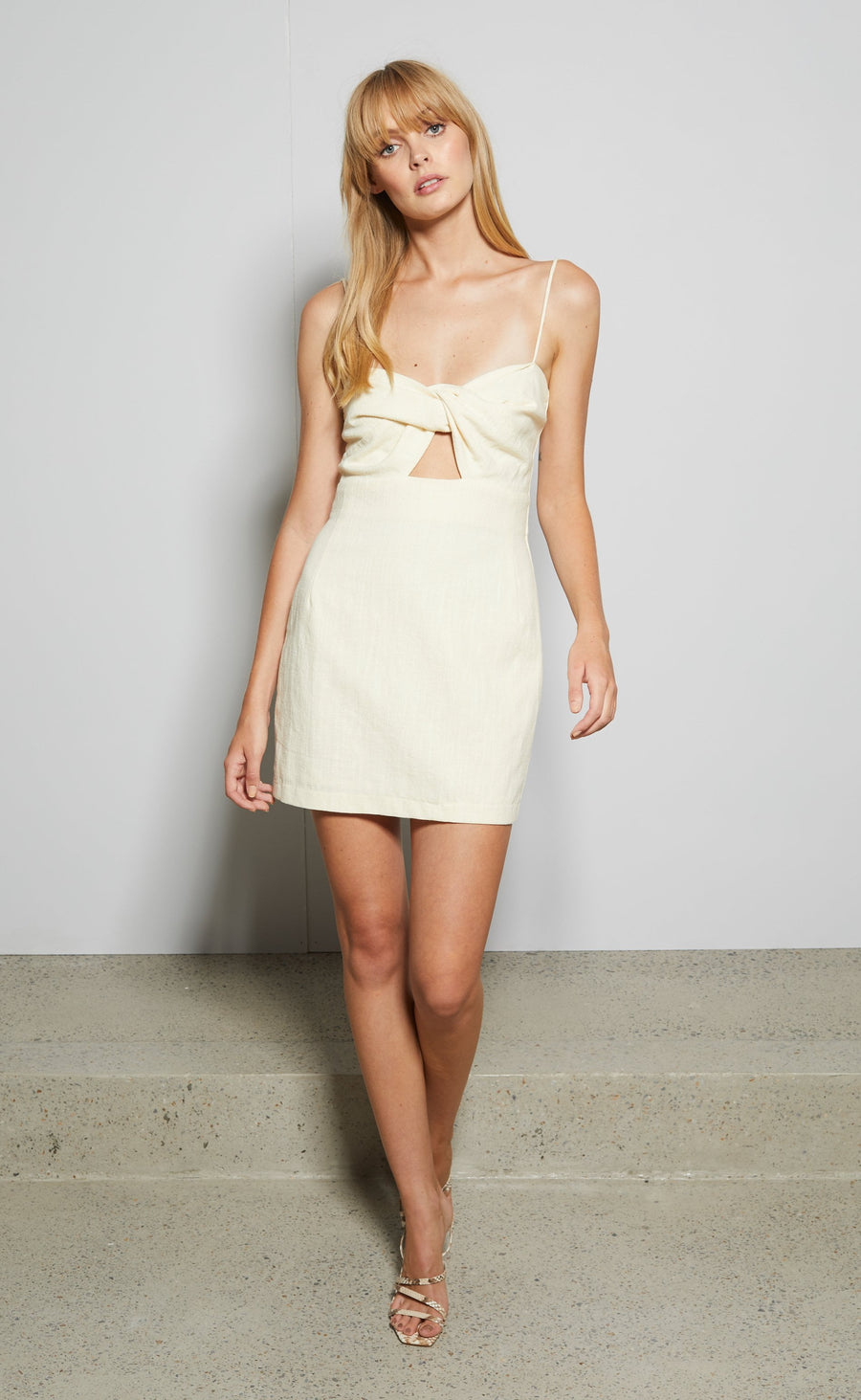 Bec and Bridge Ana Mini Dress Butter