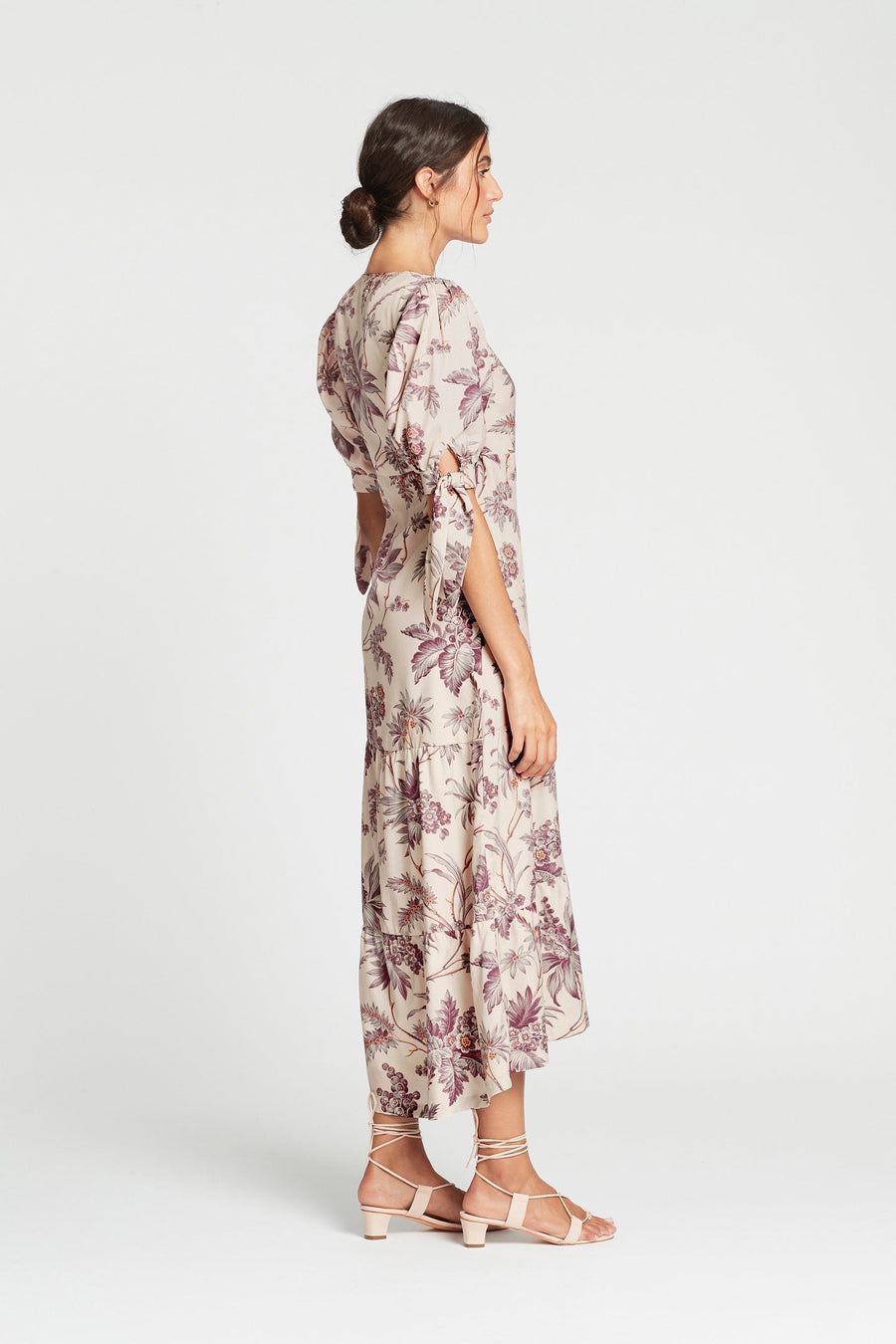 Sir Avery Wrap Midi Dress
