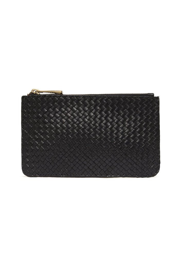 St Agni Louis Zip Pouch Black