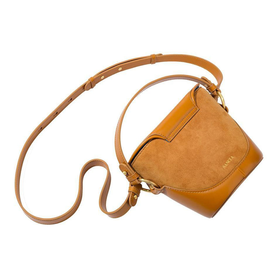 Sancia Sidonie Bucket Bag Cognac