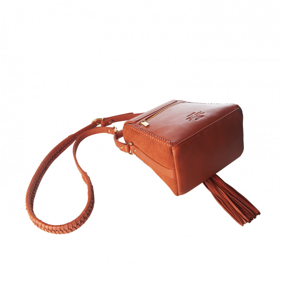 Sancia Mini Milla Jet Set Bag Terracotta - Call Me The Breeze - 3