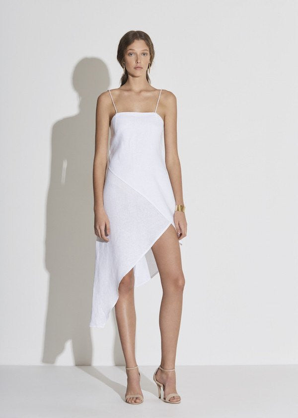 97956703a11 Sir Rosa Wrap Dress White - Call Me The Breeze - 1 ...