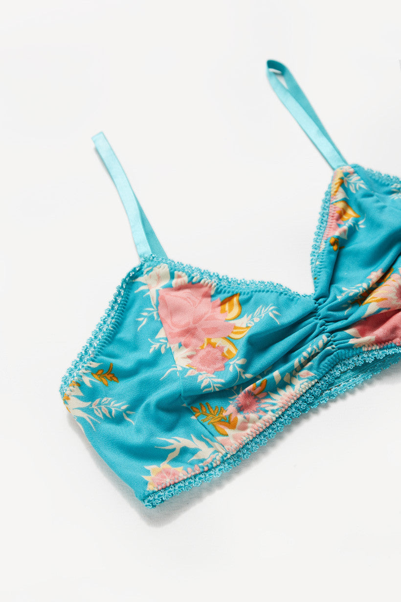 Spell Jagger Bralette Teal - Call Me The Breeze - 2