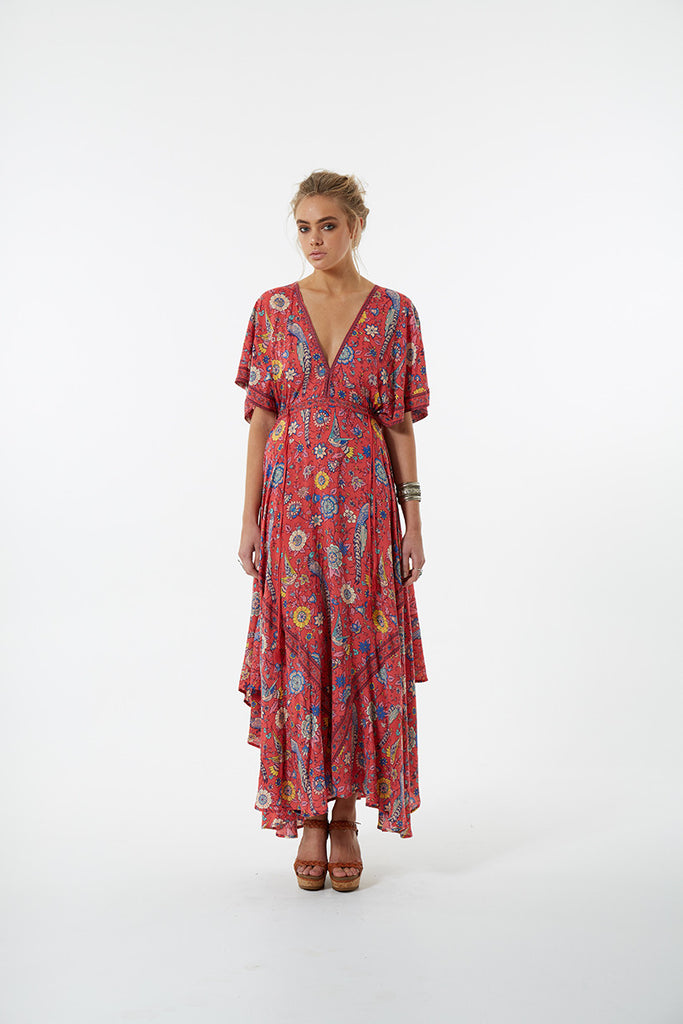 Spell Lovebird Half Moon Gown Rose - Call Me The Breeze - 4