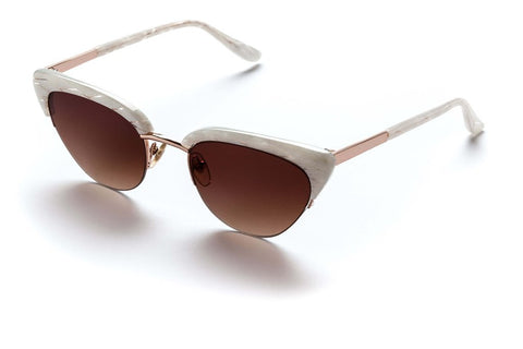Sunday Somewhere Pixie Sunglasses Mother of Pearl // PREORDER