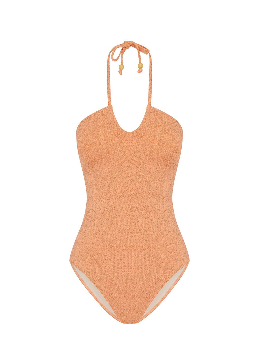 Peony Ruched One Piece Shimmer
