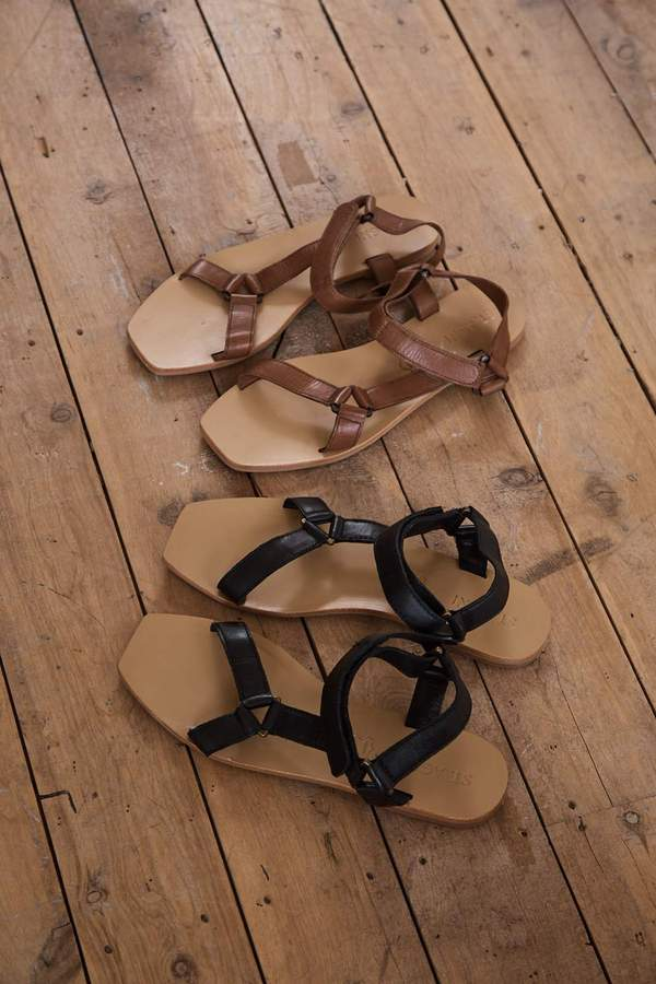 St Agni Sportsu Sandal Antique Tan