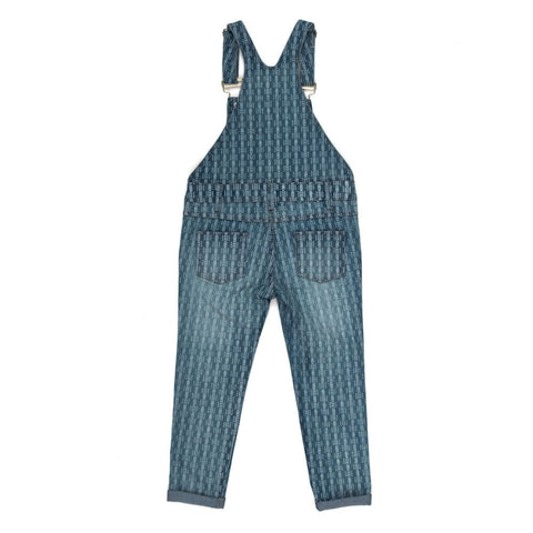 Children of the Tribe Slow Livin Denim Overalls