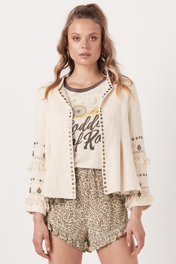 Spell Alphie Jacket Cream