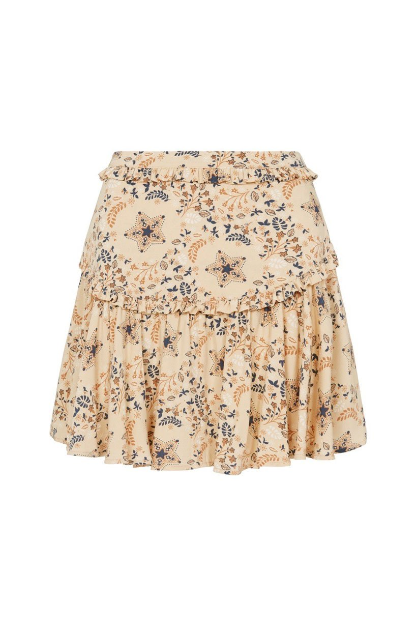 Spell Celestial Mini Skirt Cream