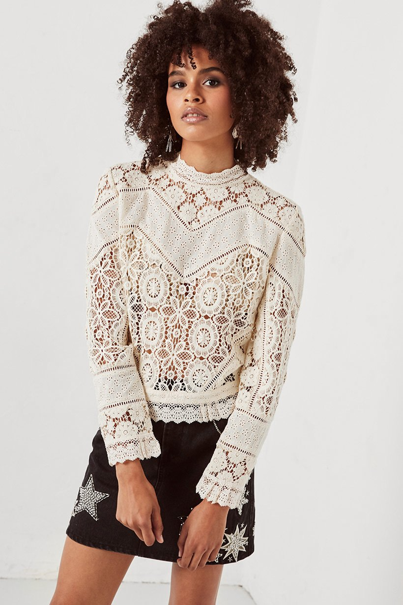 Spell Imperial Lace Blouse