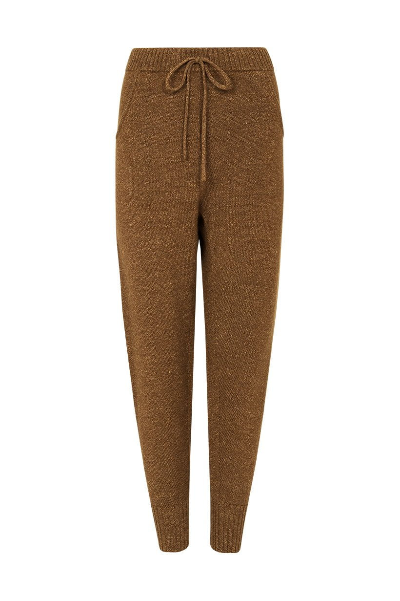 Spell Kimba Knitted Pant Tan