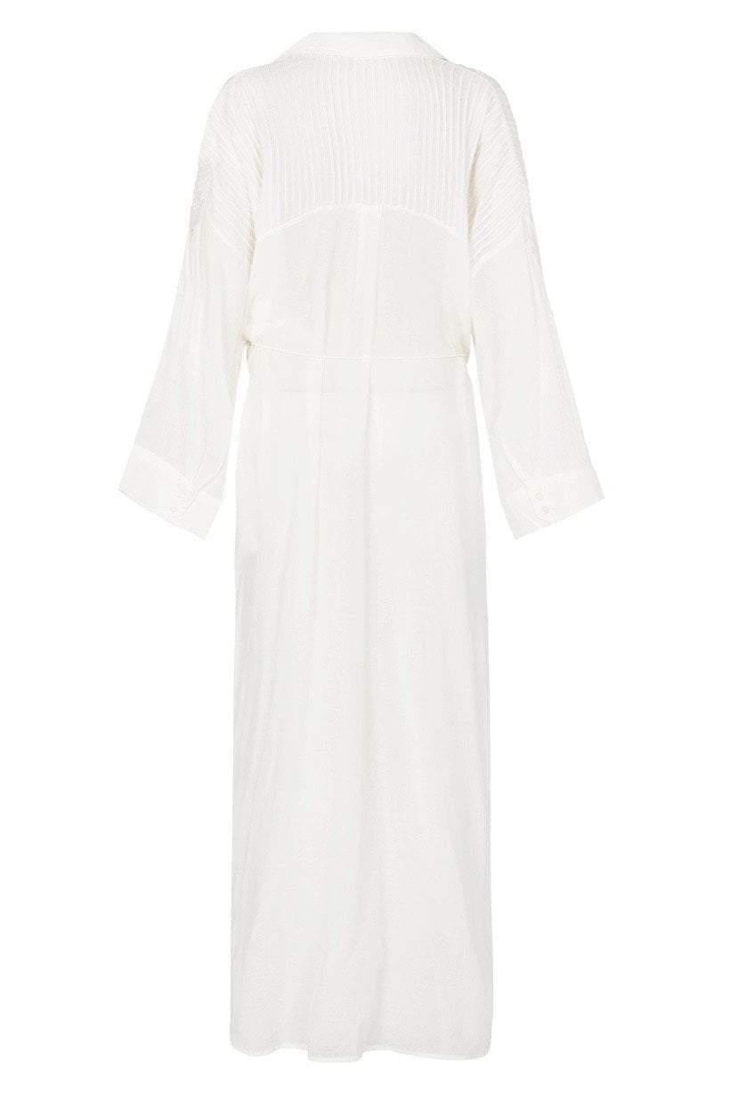 Spell Linda Shirt Dress White
