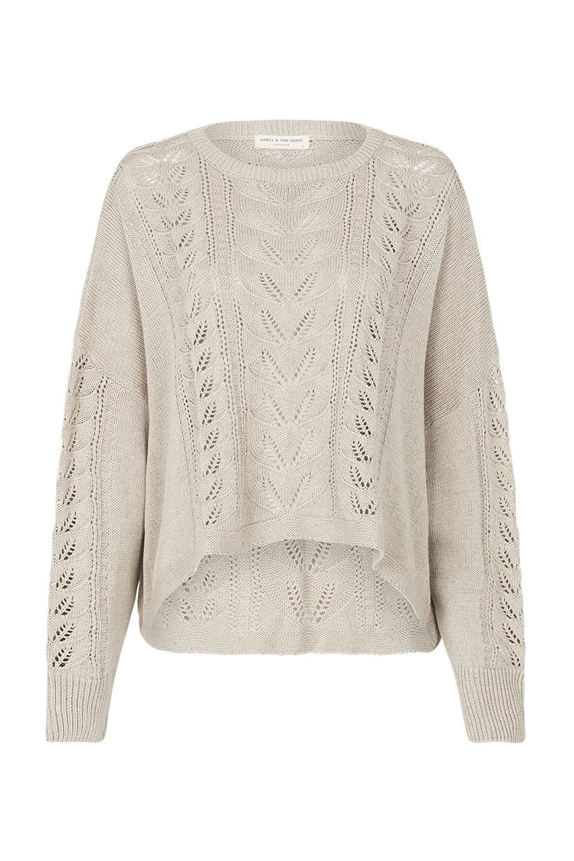 Spell Linda Slouch Knit Taupe