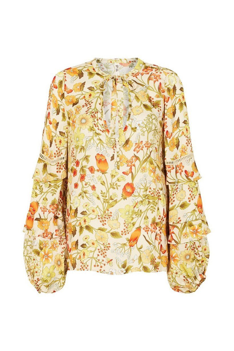 Spell Sayulita Blouse Sunflower