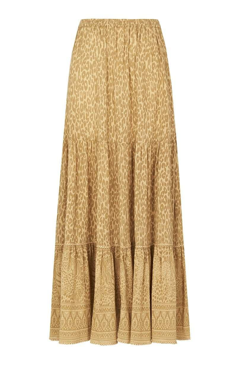 Spell Wild Thing Midi Skirt