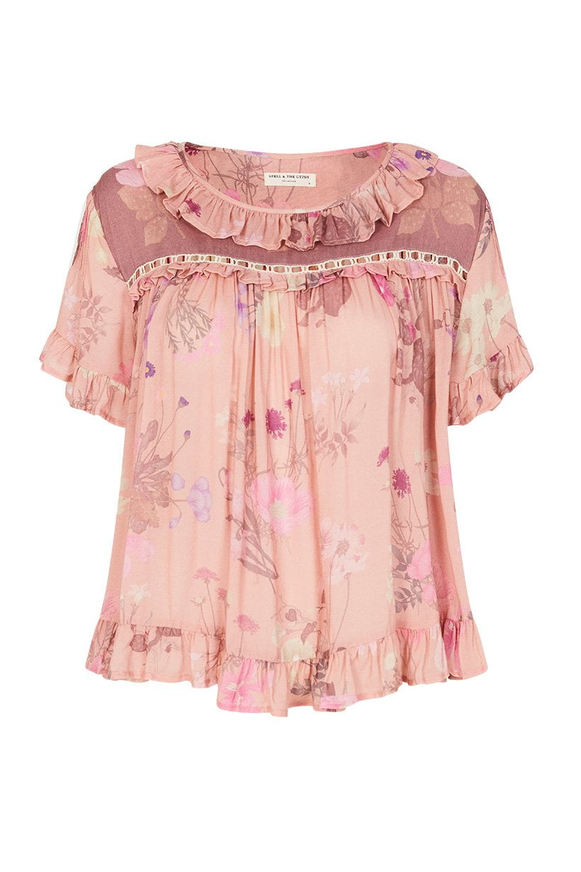 Spell Wild Bloom Top Blush
