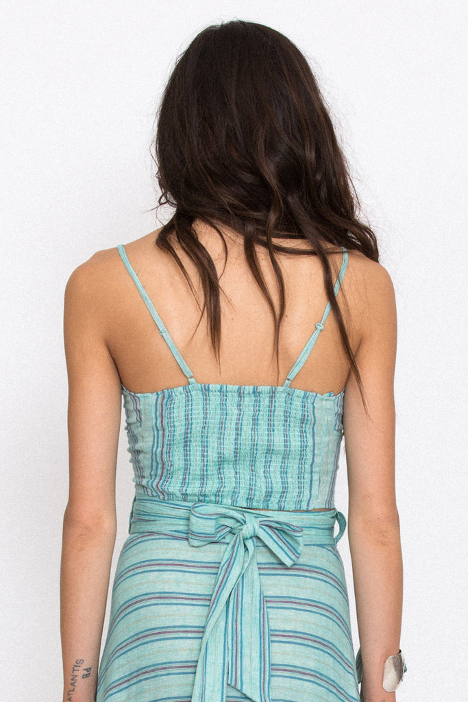 Spell Island Boho Bustier Turquoise - Call Me The Breeze - 2