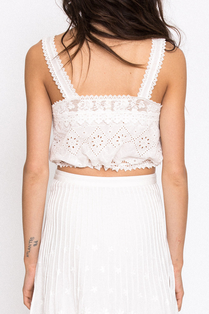 Spell Sahara Lace Crop Top - Call Me The Breeze - 4