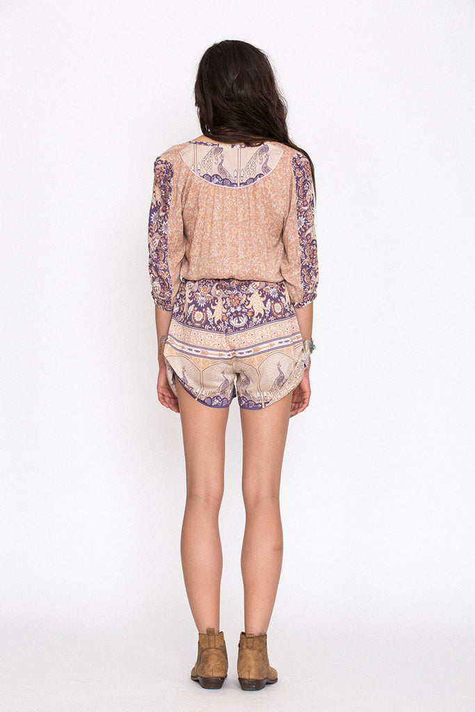 Spell Xanadu Playsuit Gold Dust - Call Me The Breeze - 2