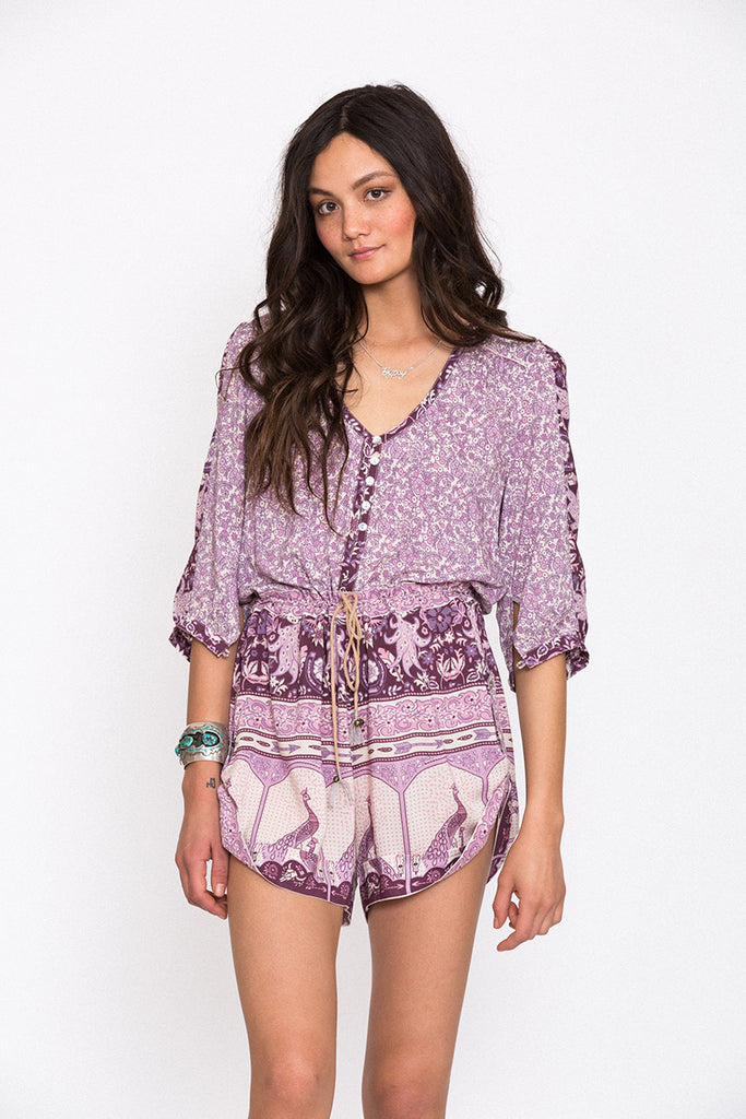 Spell Xanadu Playsuit Purple Haze - Call Me The Breeze - 3