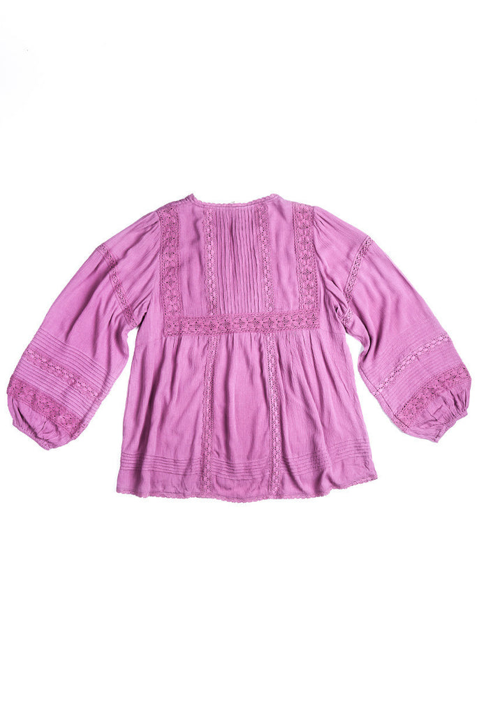 Spell Boho Bella Blouse Mauve - Call Me The Breeze - 4