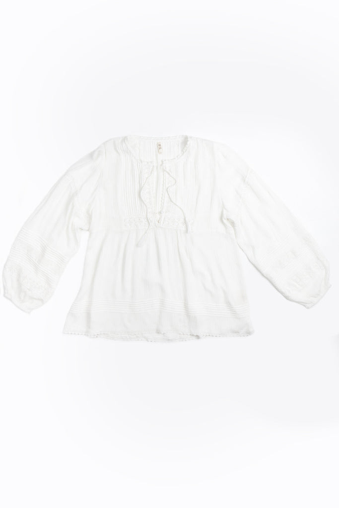 Spell Boho Bella Blouse White - Call Me The Breeze - 2