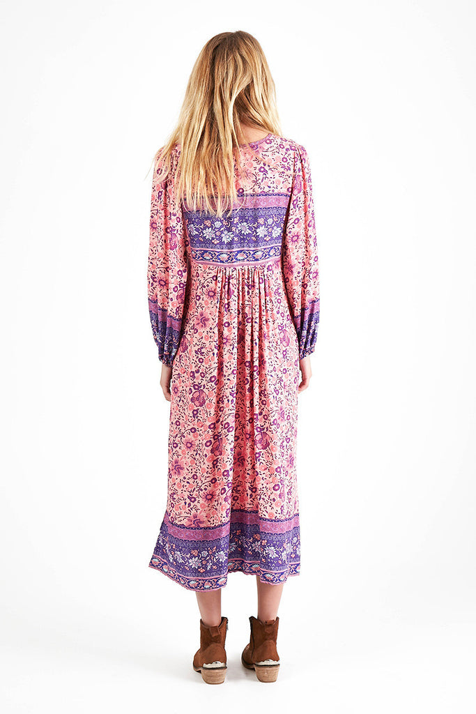 Spell Folk Town Boho Maxi Dress Blossom - Call Me The Breeze - 3