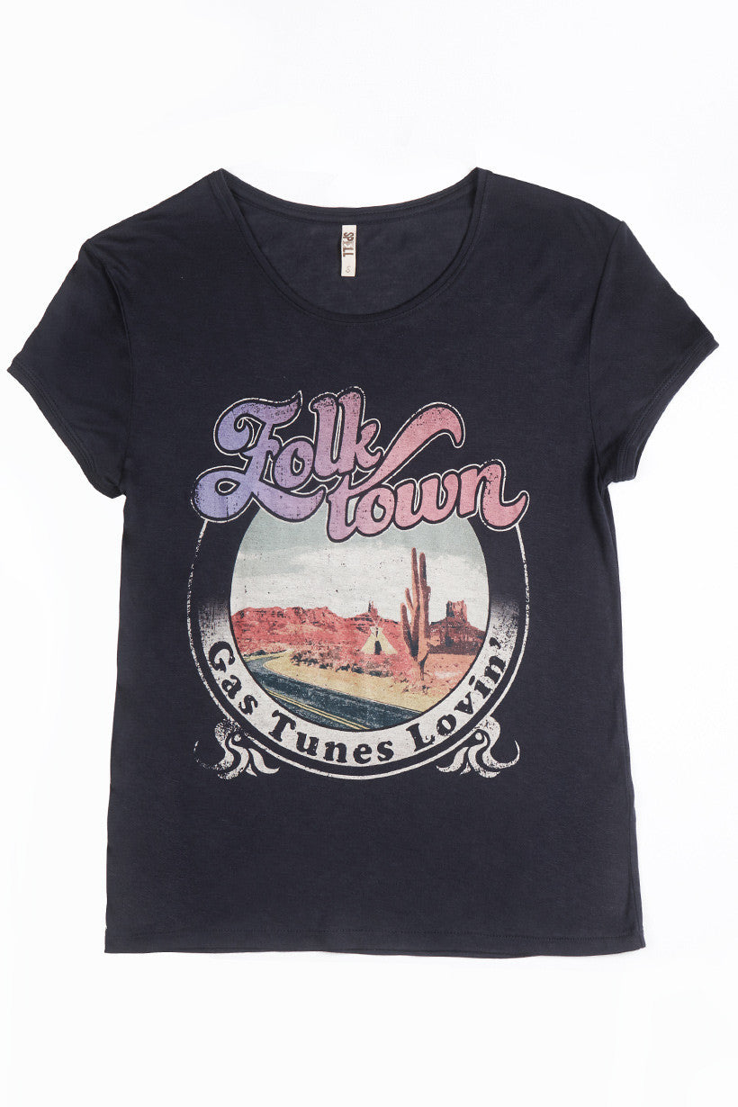 Spell Folk Town Tee - Call Me The Breeze - 2