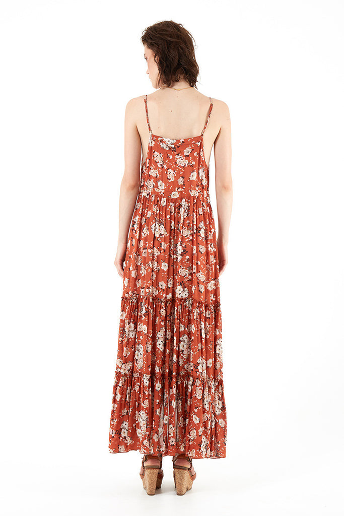 Spell Gypsy Dancer Maxi Sundress Maple - Call Me The Breeze - 4