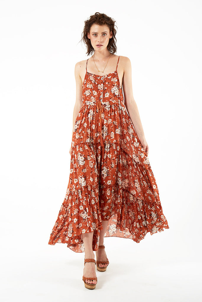 6f7f06808ca Spell Gypsy Dancer Maxi Sundress Maple - Call Me The Breeze - 5. Next