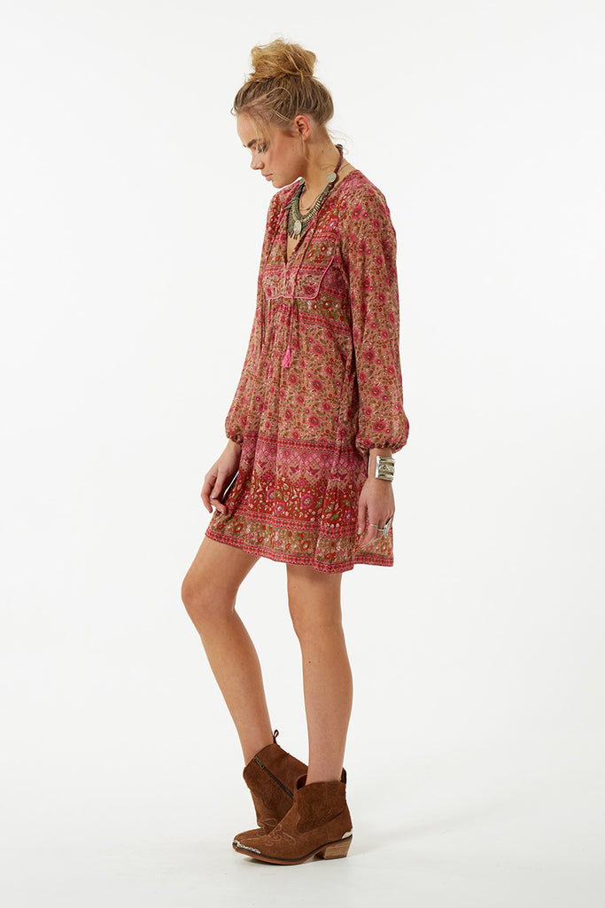 Spell Kombi Boho Dress Spice - Call Me The Breeze - 3