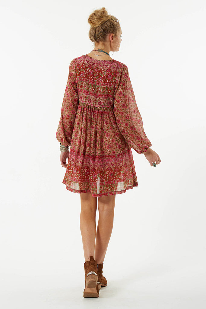 Spell Kombi Boho Dress Spice - Call Me The Breeze - 2