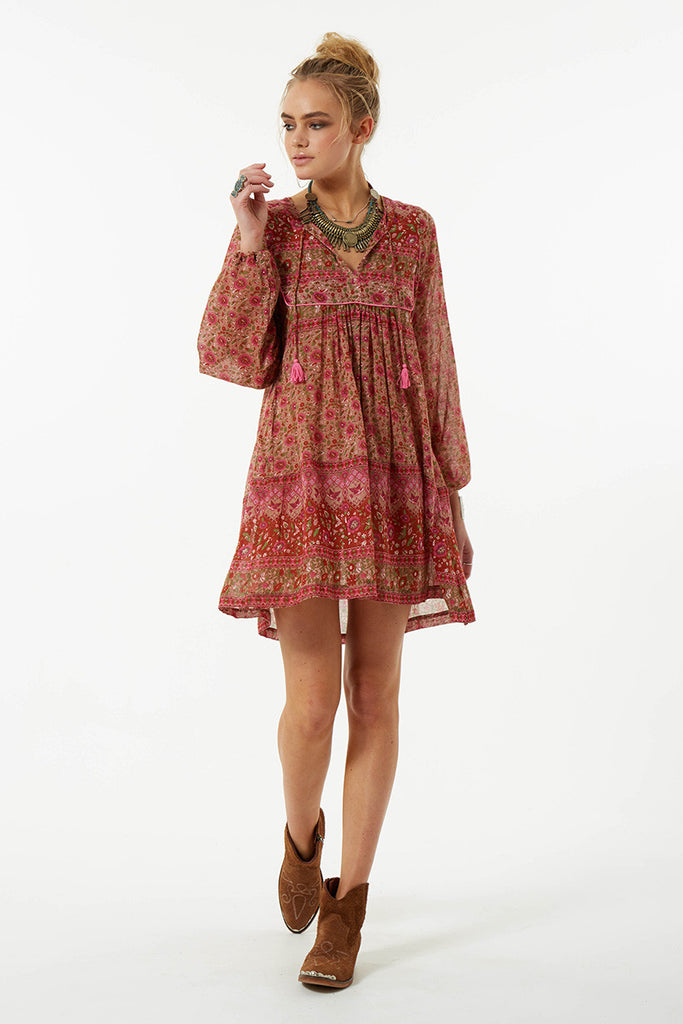 Spell Kombi Boho Dress Spice - Call Me The Breeze - 4