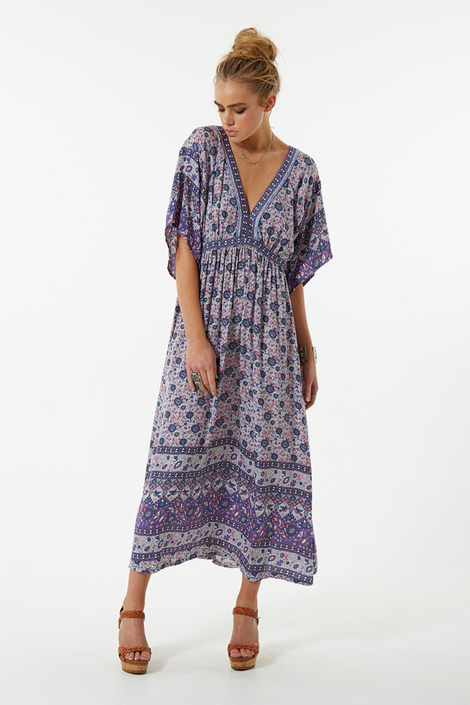 Spell Kombi Folk Dress Lavender - Call Me The Breeze - 5