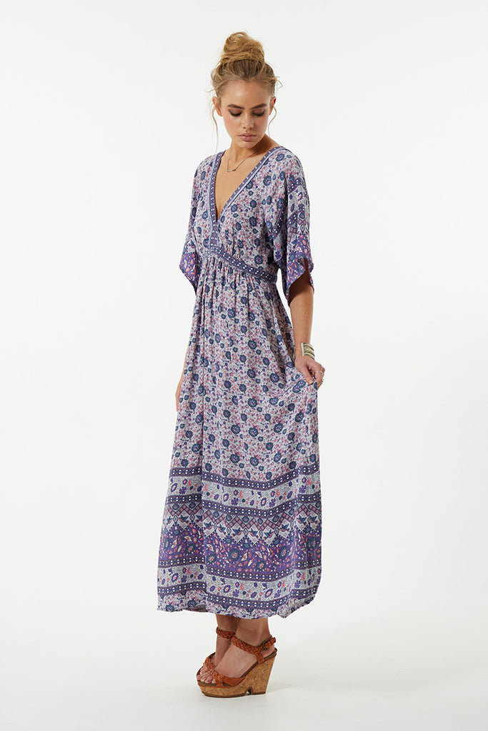 Spell Kombi Folk Dress Lavender - Call Me The Breeze - 6