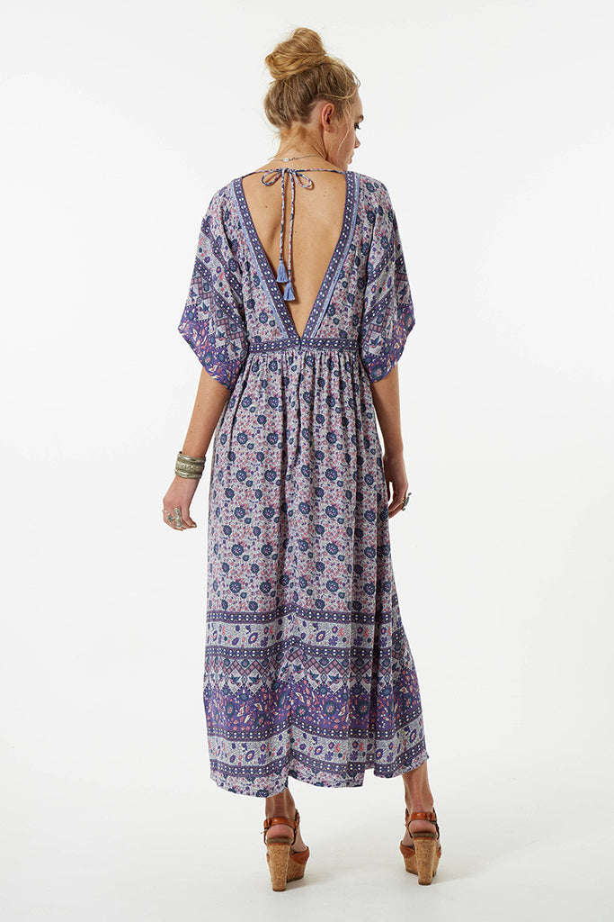 Spell Kombi Folk Dress Lavender - Call Me The Breeze - 8