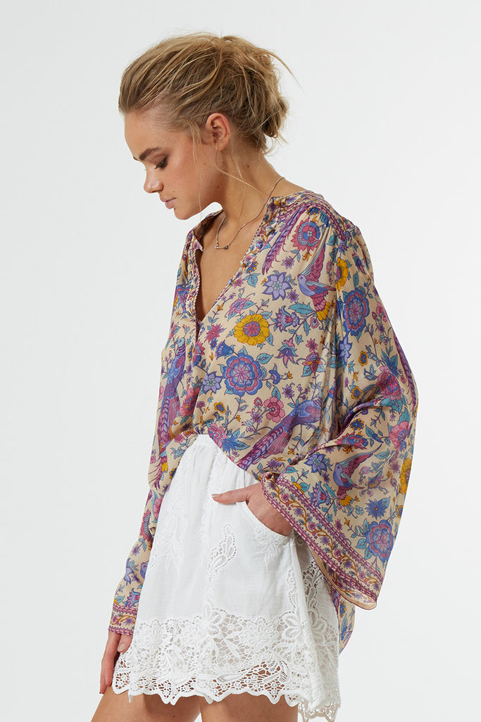 Spell Lovebird Blouse Chamomile - Call Me The Breeze - 2