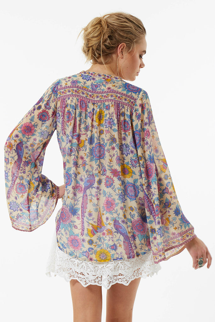 Spell Lovebird Blouse Chamomile - Call Me The Breeze - 3