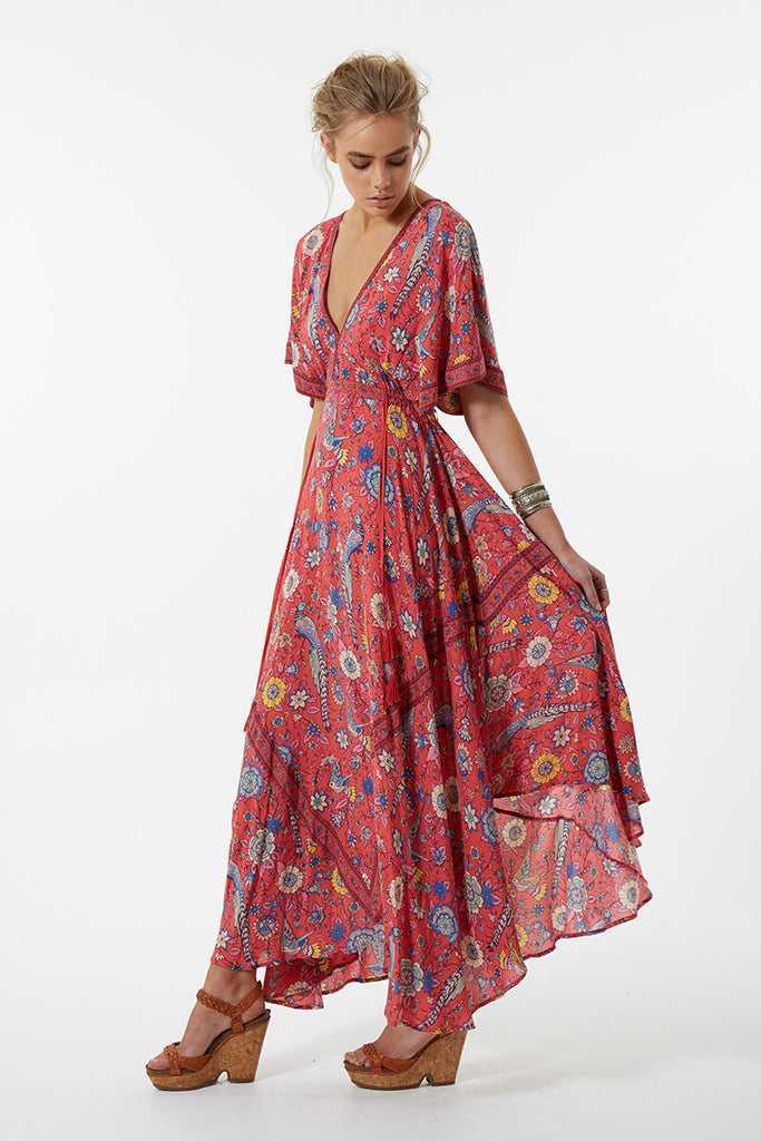 Spell Lovebird Half Moon Gown Rose - Call Me The Breeze - 3